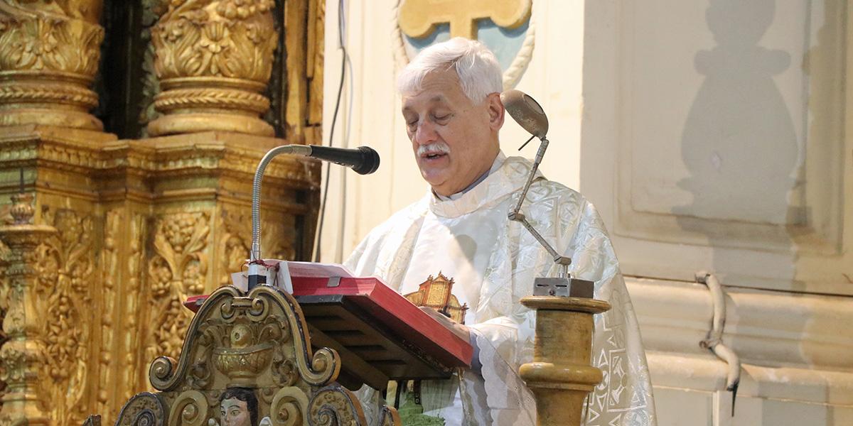 Mass at the Basilica of Bom Jesus, Old Goa – 26 Feb 2019