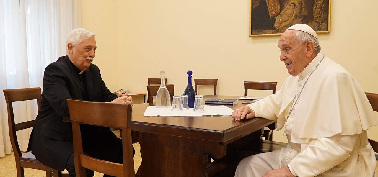 Questions-réponses avec le Père Général : Que pensez-vous du Pape François ?
