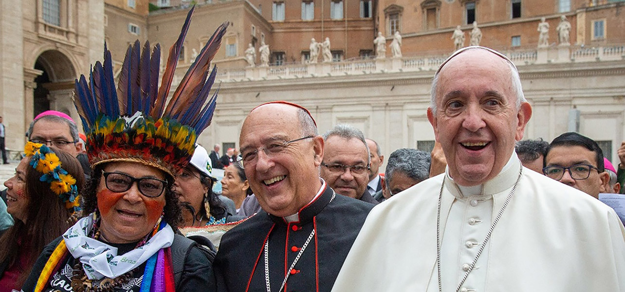 The indigenous people of the Amazon trust Pope Francis