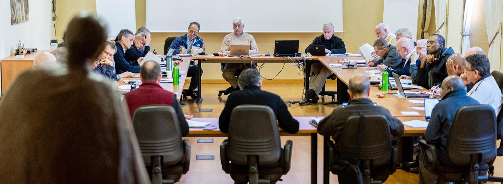 Il Consiglio allargato: i leader dei gesuiti uniti dalla stessa missione
