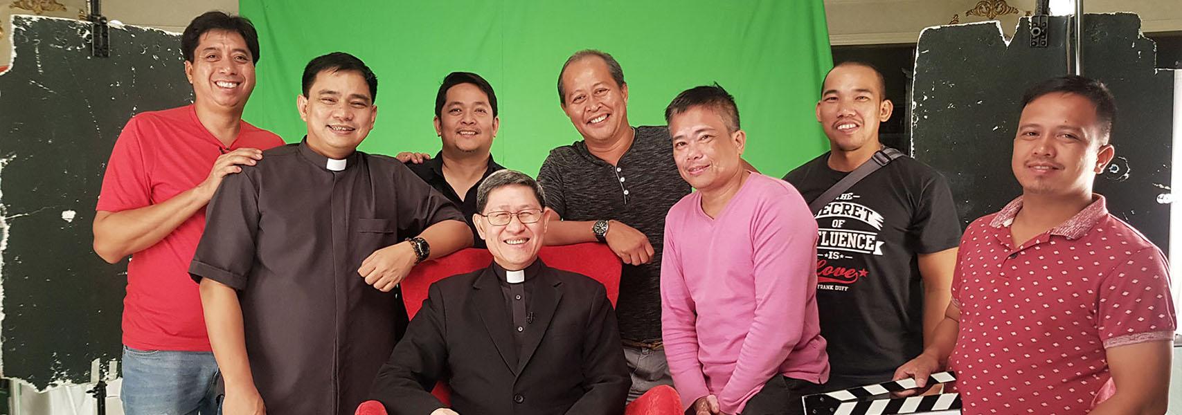 El Cardenal Tagle: la evangelización a través de los medios de comunicación