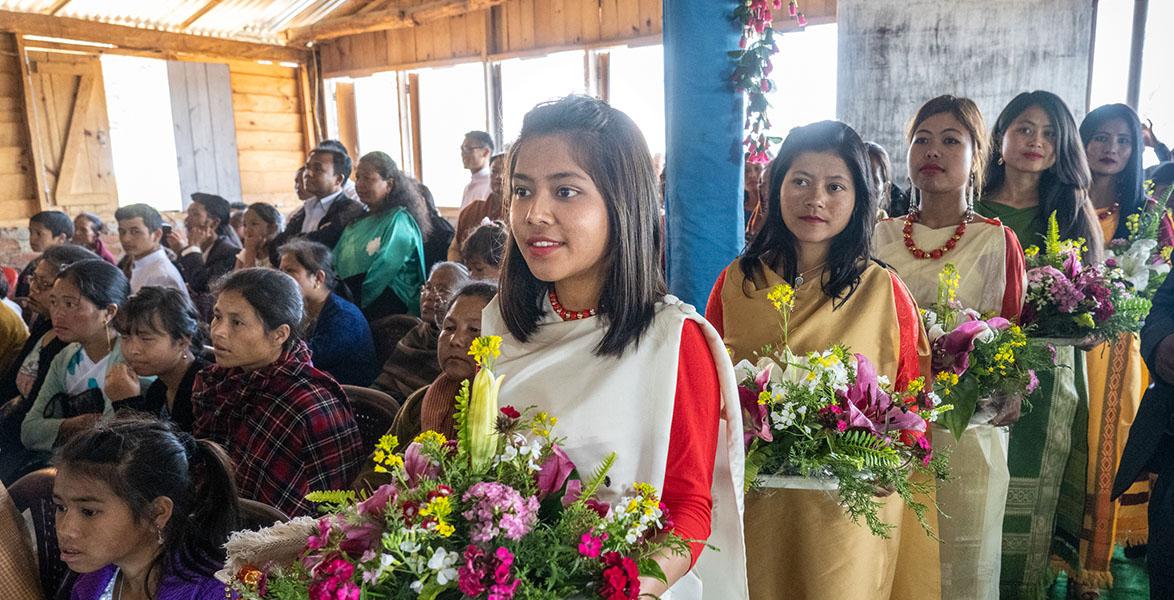 La tribu des Khasis, une société matrilinéaire