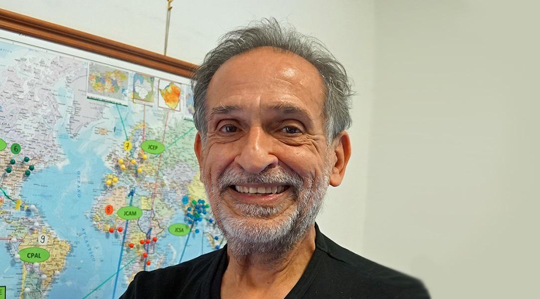 Jorge Serrano: 10 años de servicio en el equipo del Economato General