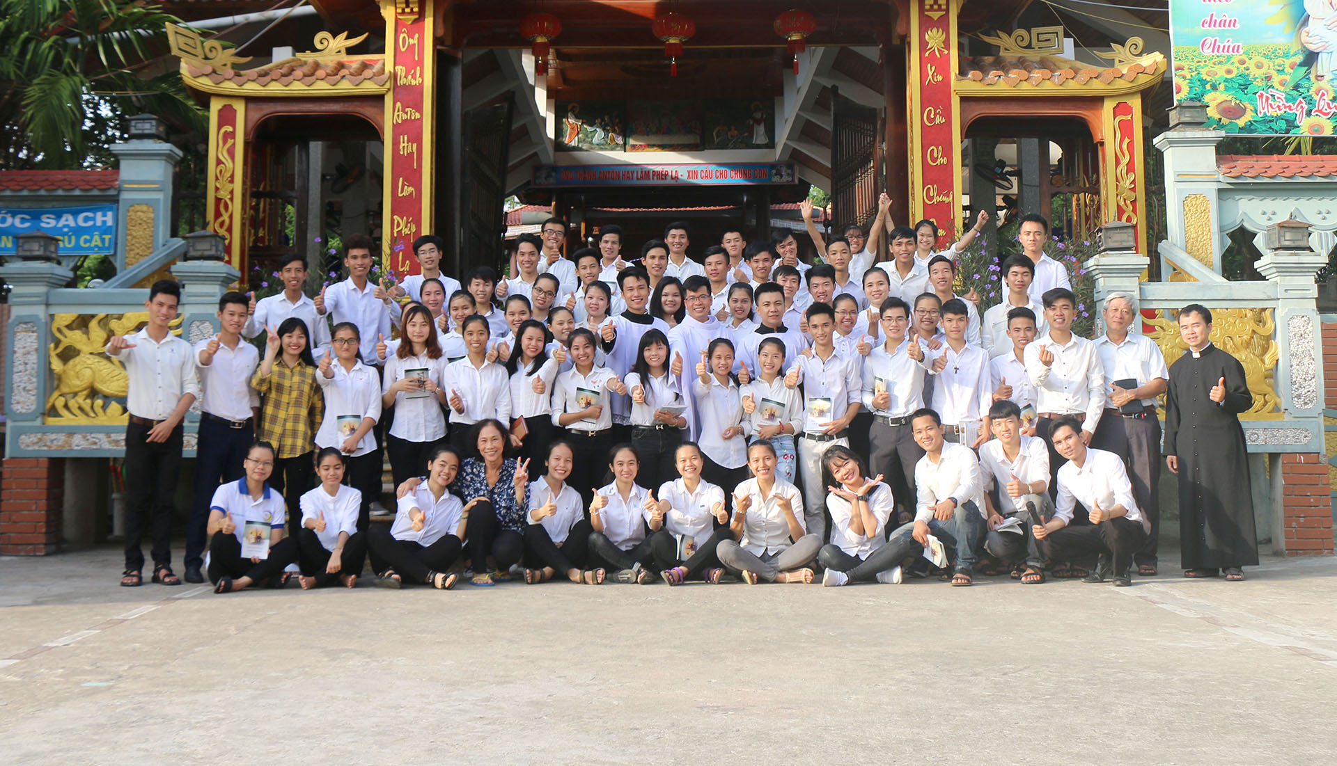 Vietnam – Accompagnement des jeunes : universitaires et séminaristes
