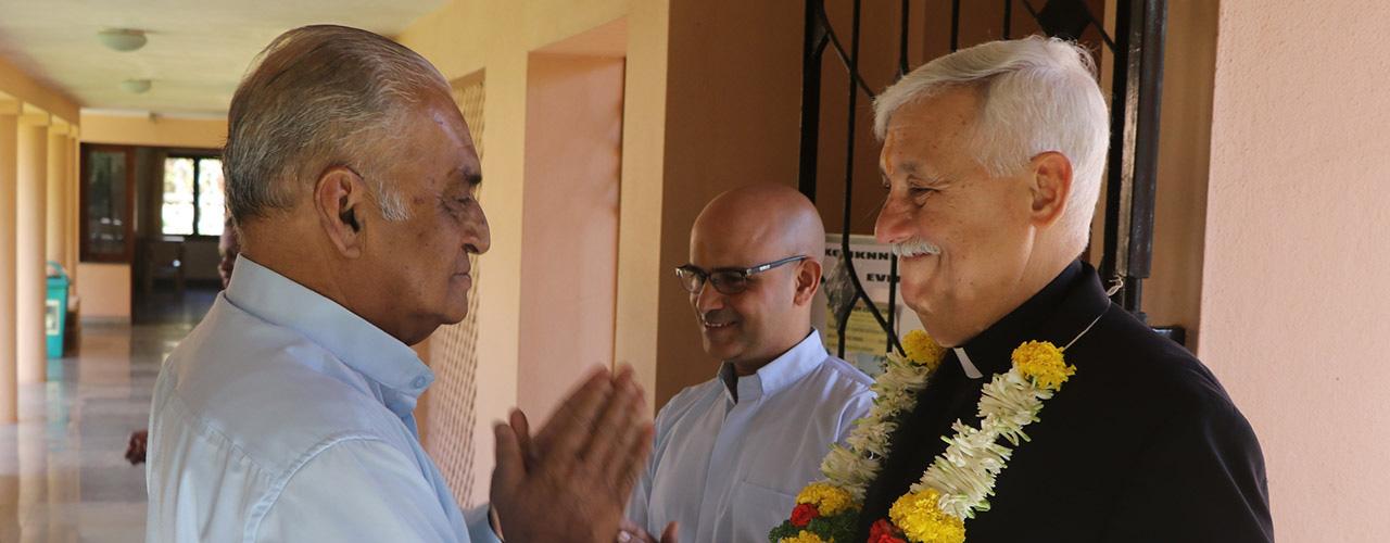 In Goa and Belgaum, Fr. Sosa invites collaboration