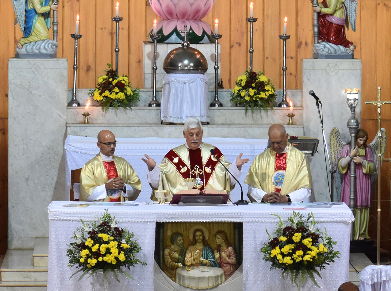 Homily of the Mass celebrated by Fr. General at Fatima Cathedral, Belagavi – 28 Feb 2019