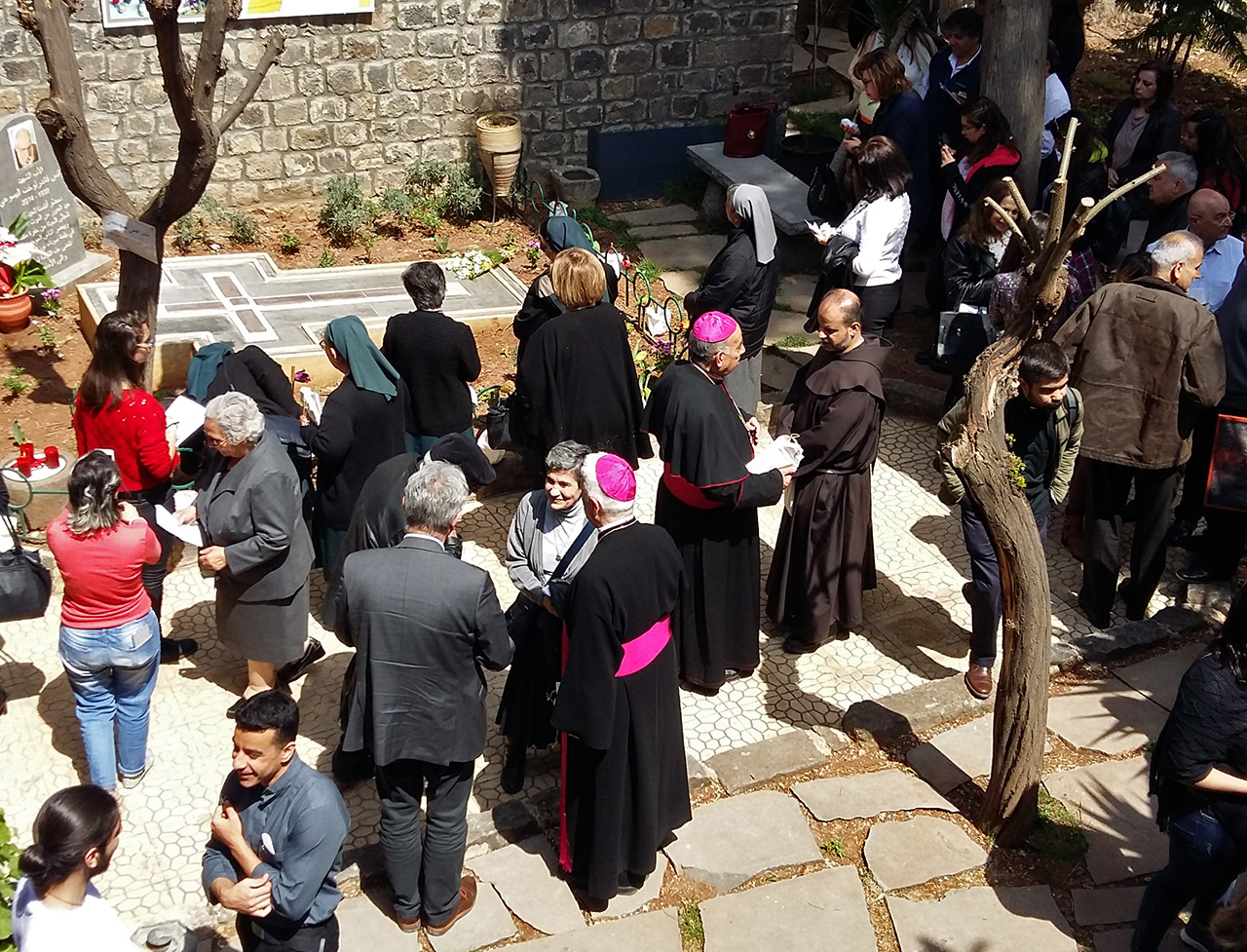Address of Fr Arturo Sosa, on the occasion of the commemoration of the 5th anniversary of the martyrdom of Fr. Frans van der Lugt (Homs, 6 April 2019)