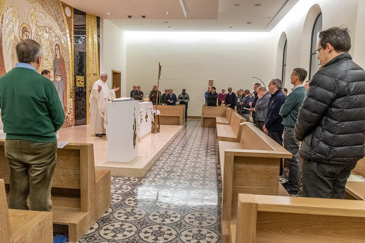 Eucaristía al final de la sesión del Consejo Ampliado – Curia General, 10 de enero de 2020