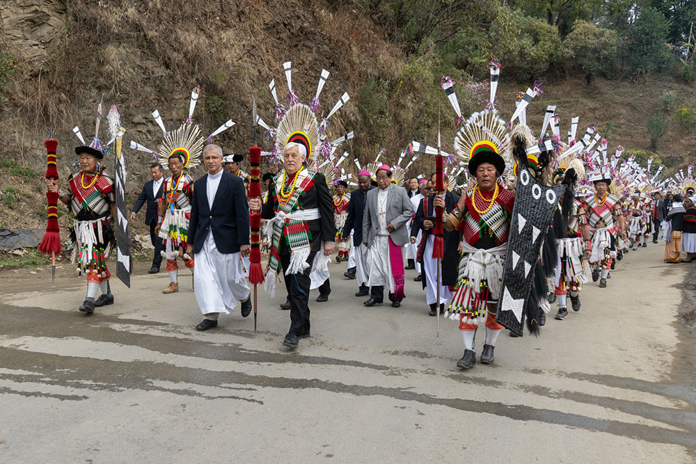 Inauguration of the 50th Anniversary Celebration with Indigenous People