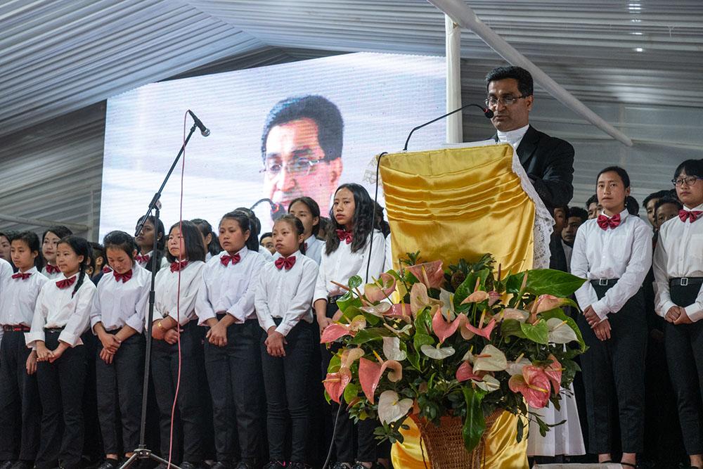 50th Anniversary Mass – Regional Superior Melvin Pereira, SJ