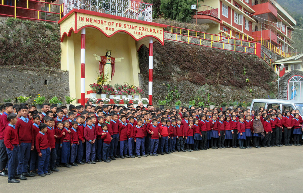 Gandhi Ashram – The whole school community