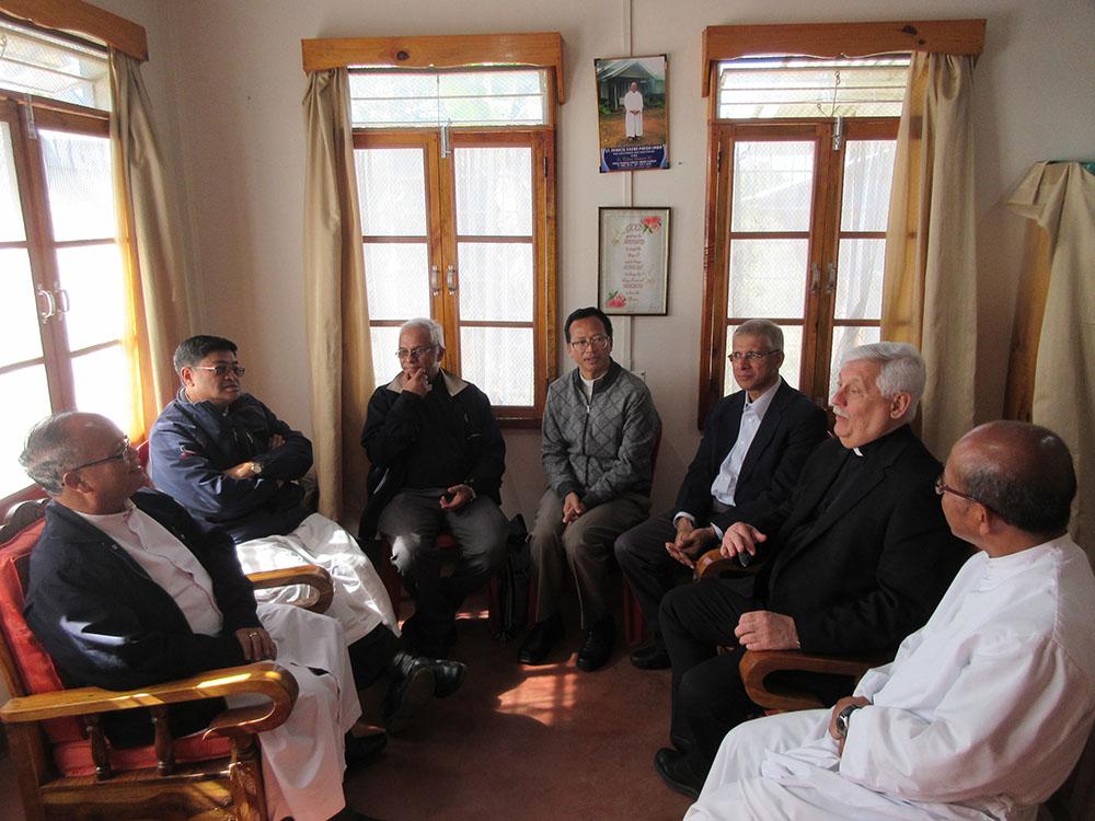 Umbir – With the Jesuit pastoral team