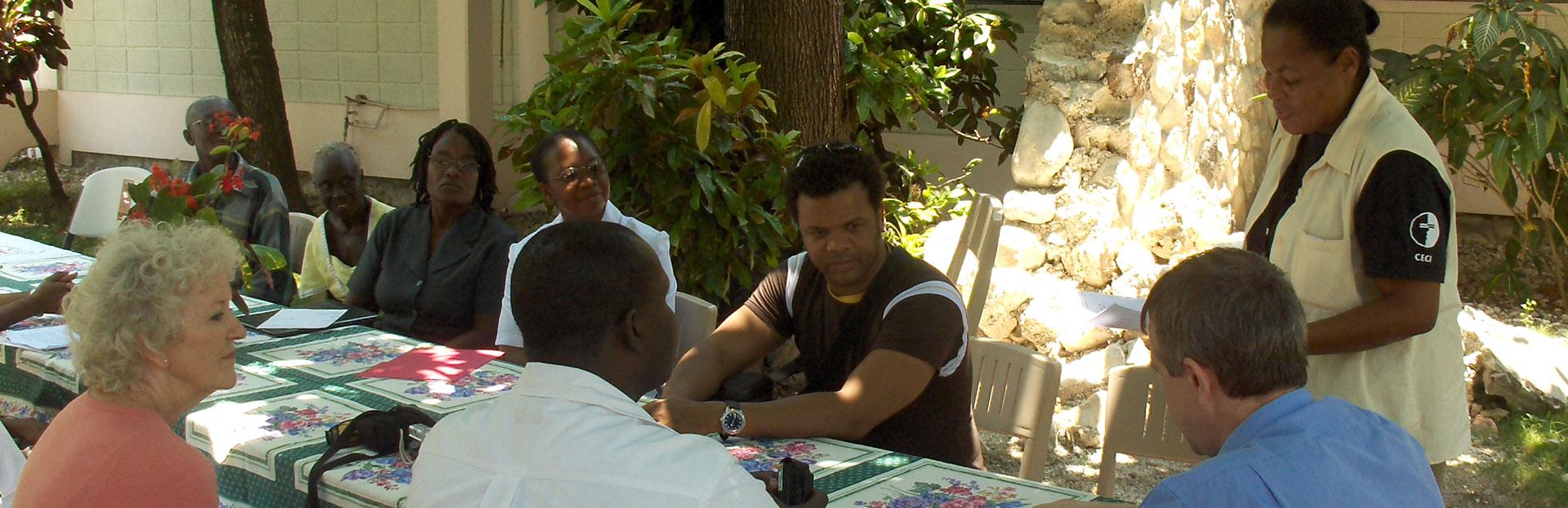 """""""Somos un solo cuerpo apostólico"""" (Padre General a los jesuitas de Haití)"""
