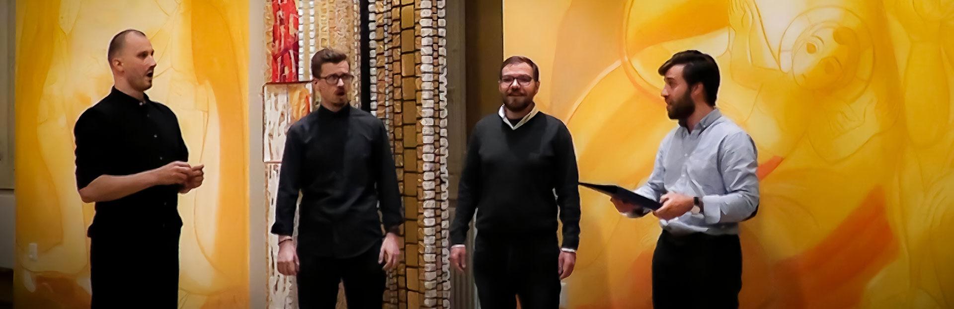 """Condividere la gioia del Natale con """"Gaudete"""", eseguita da giovani gesuiti"""