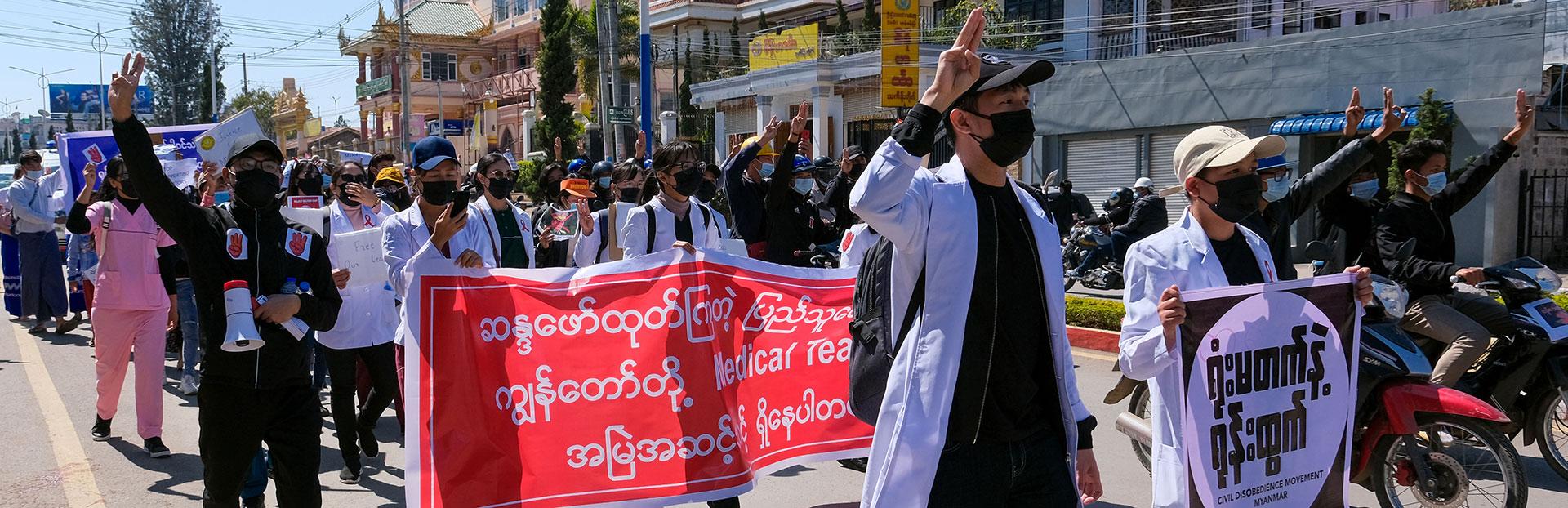 El Padre General llama a apoyar al pueblo de Myanmar