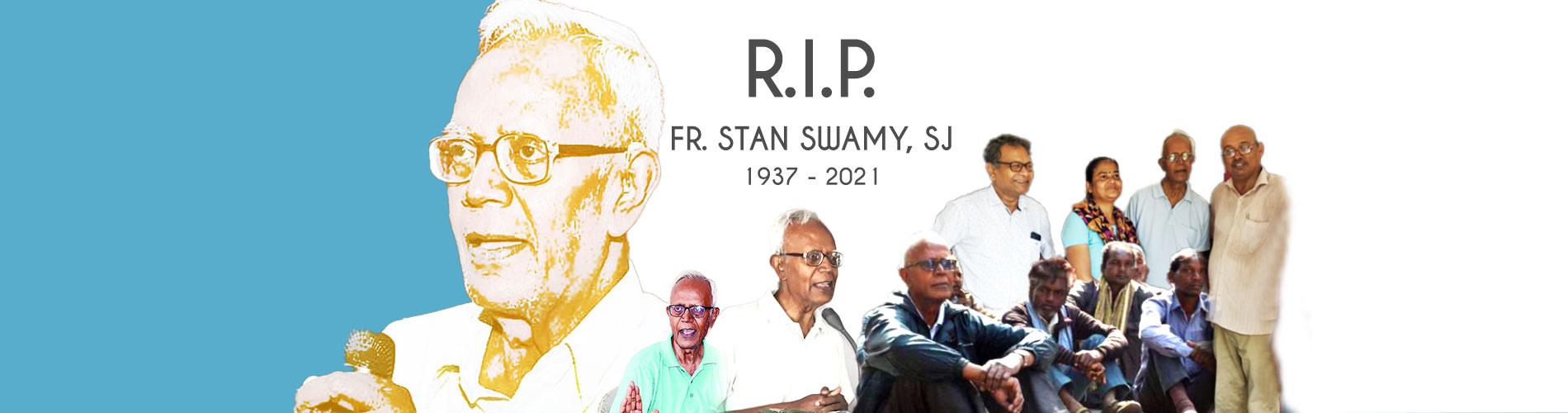 Ha fallecido el P. Stan Swamy, SJ, activista de los derechos humanos en la India