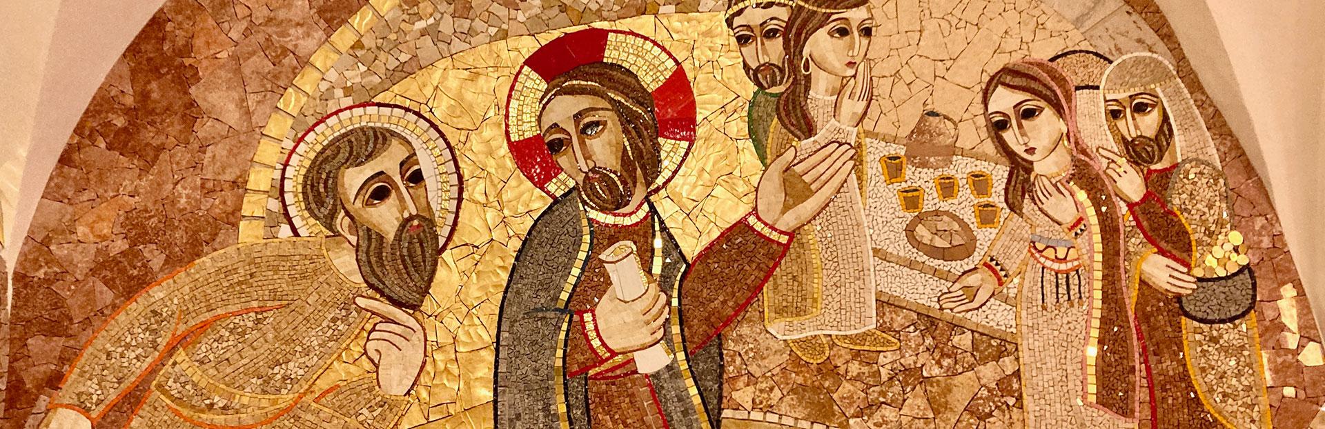 Uno spazio di incontro di 550 metri quadri di mosaici a Manresa