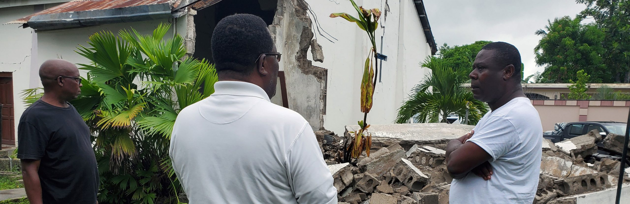 Haiti: Jesuits get involved after the earthquake of 14 August