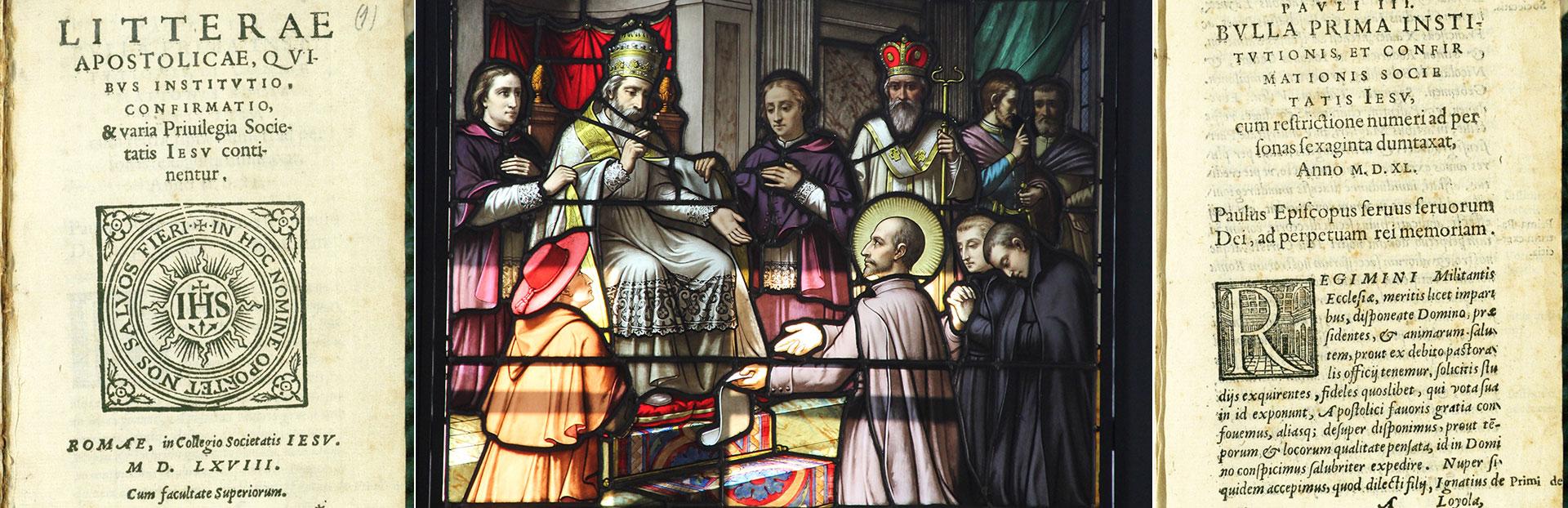 El 27 de septiembre de 1540, la Compañía de Jesús recibió la aprobación papal